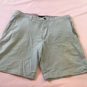 BANANA REPUBLIC AQUA CASUAL SHORTS SIZE 38